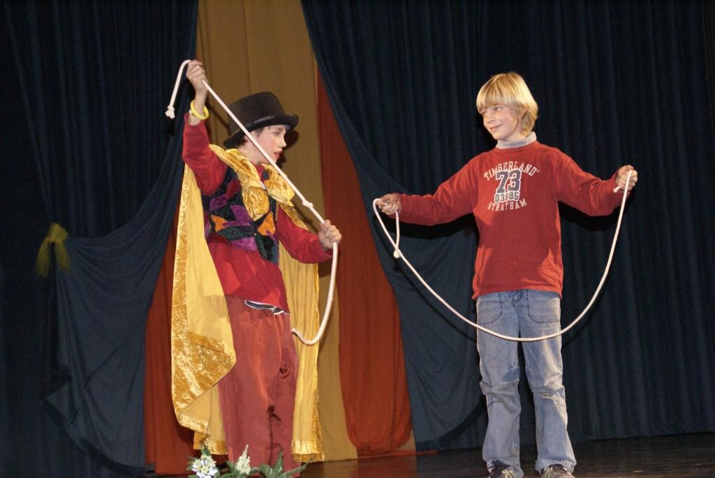 8 Rudolf Steiner Schule Projektwoche Zaubern lernen